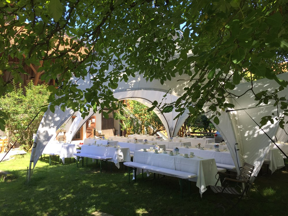 Eventlocation: Innenhof - Gut Georgenberg